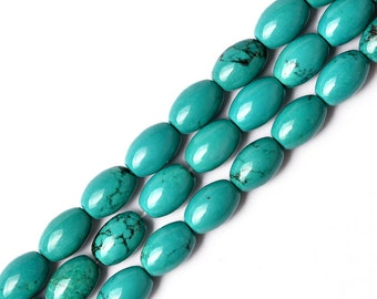 DIY Handmade  Turquoise Beads Scattered Beads Semi-finished 40cm String-WEN18512898094-GVN