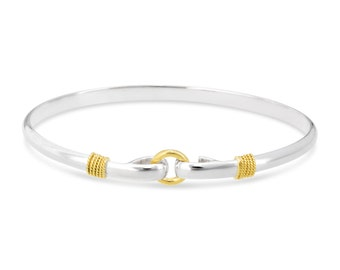 "Cape Cod Center Circle "" Porthole"" Bracelet"