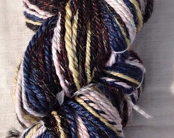 Starry Night hand spun yarn