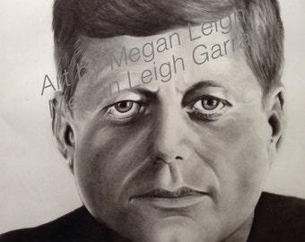 John F Kennedy print