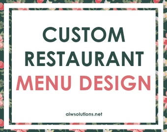 Wine menus Design, Beer Drink menus, Dessert menus ,Food menu, Restaurant menu, bar menu, Custom Restaurant Menu Design, service menu