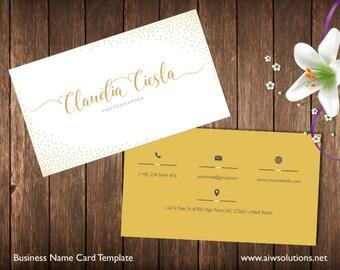 Simple Business Card Template Pk Minimal Business Card - Single business card template