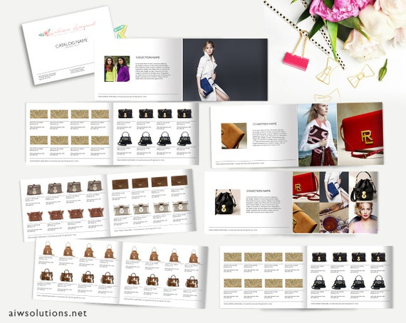 free product catalog template for word