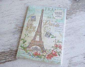 """A5 stickynotes book """"Paris"""""""