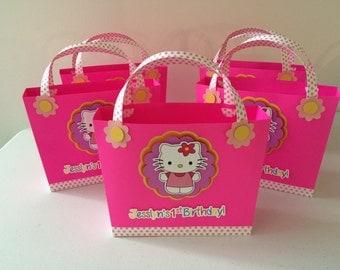 Hello Kitty purse favor party 6PC