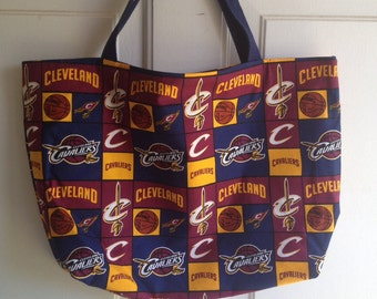 Cleveland Cavaliers tote bag