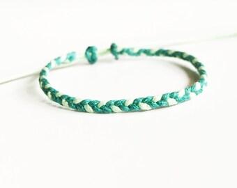 Friendship Bracelet, Wax Cord Bracelet, Braided Bracelet, Party Favors, Wholesale Bracelets, Best Friend Gift, Custom Bracelet, BFF Gift