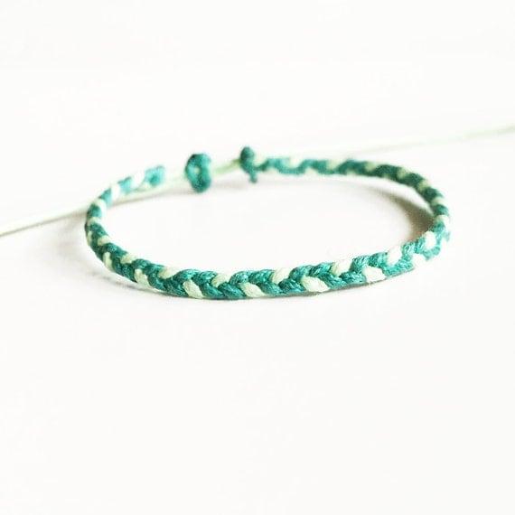 friendship bracelet wax cord bracelet braided bracelet