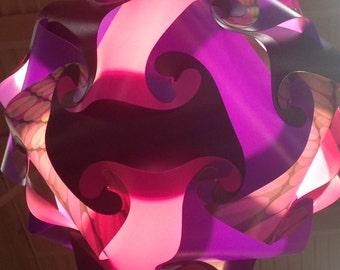 Retro Circle Puzzle Light