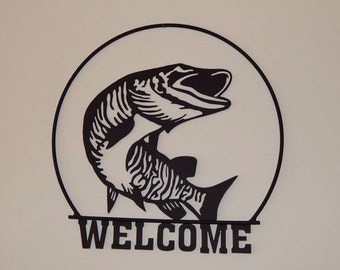 Musky Welcome Sign