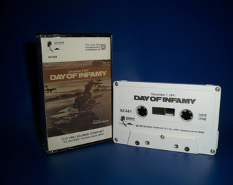 Pearl Harbor - Day Of Infamy - Cassette Tape