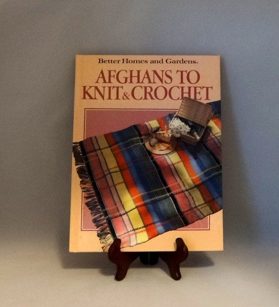 Knitting Or Crocheting Better : Afghans to knit and crochet better homes gardens