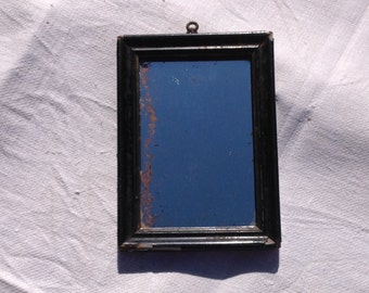 Beautiful antique french mirror with original glass