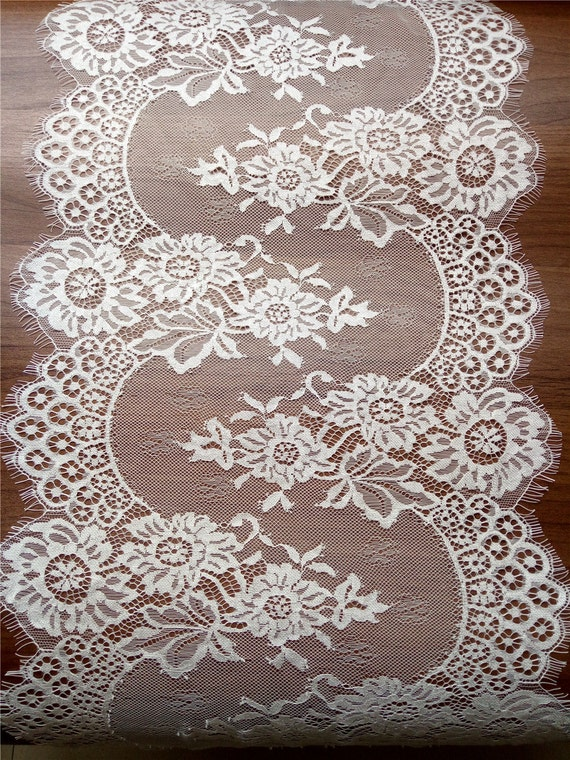 10ft ivory lace table runner 12 white table runners for 12 ft table runner