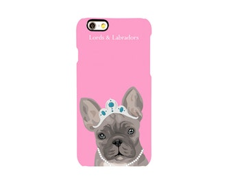 Phone Case: Bubblegum Pink & Frenchie