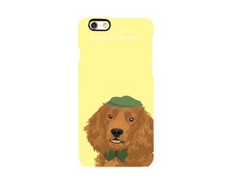 Phone Case: Daisy Yellow & Labrador