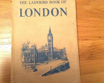 Vintage Ladybird book of London