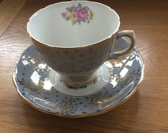 Vintage Collclough Cup and Saucer