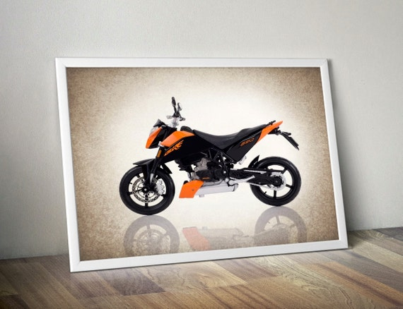 Ktm 690 duke motorcycle photo printwall artboys by ipraystudio for Decoration ktm