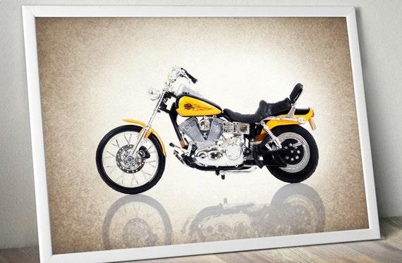 Harley Davidson 1997 Photo Printdecor Ideaswall By Ipraystudio