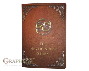 Fan-made Never ending Storybook inspired personalized journal notebook