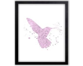 Girls Room Art, Girls Decor, Girls Wall Art, Bird Art, Bird, Limited Edition Art Print - BIS1001P