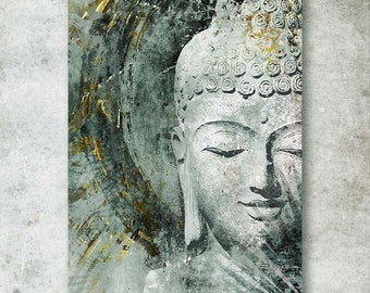 BUDDHA; Canvas Art by Eric Yang;Art Print on Paper or Metal Available