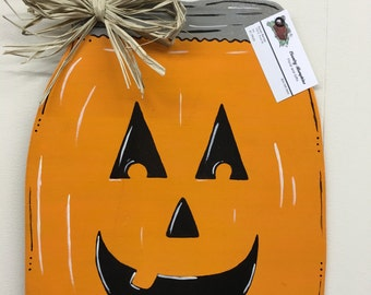 Mason Jar Pumpkin
