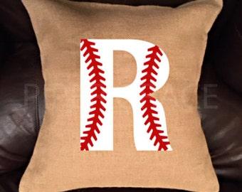 Baseball Pillow Covers, Baseball Decor, Sports Decor, Throw Pillow Covers, Decorative Pillow Covers