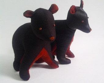 SALE Bear pattern, Bear cub pattern, soft toy BEAR, soft toy pattern, bear sewing pattern, plush toy pattern, stuffed toy pattern, toy bear