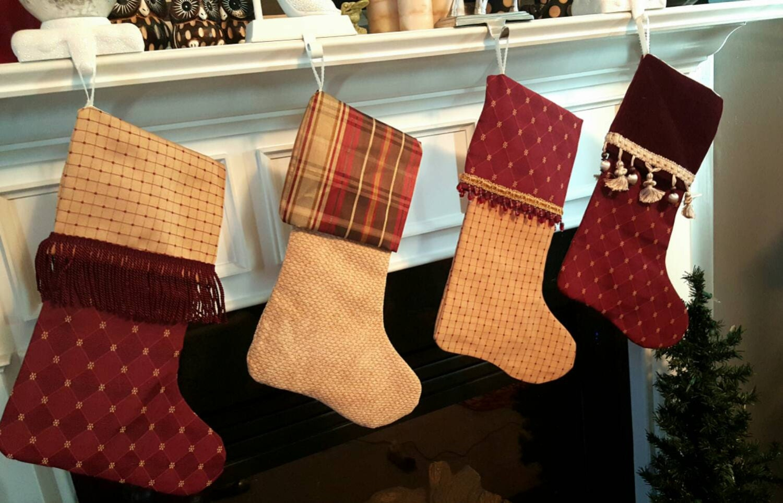 Handmade Designer Christmas Stocking