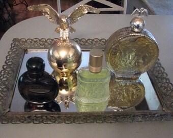 4 Vintage Fragrance & After Shave Men, Halston, Avon, Stetson