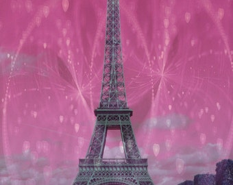 Romance in Paris, Fine Art Print, Photography, Dreamy, Romantic, Love, Home Decor, Luster or Matte Finish, Not Framed, Not Matted