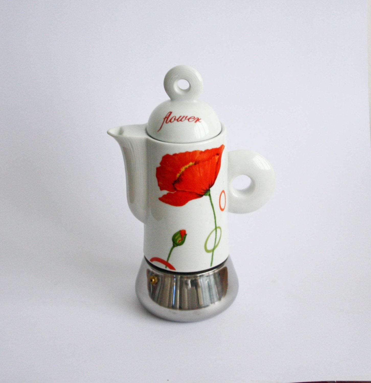 Vintage Italian Espresso Maker Stove Top Coffee Espresso