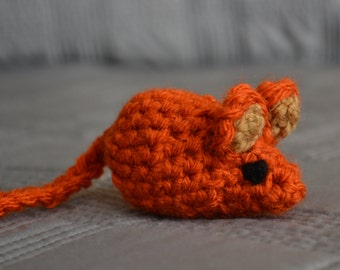 Catnip-Filled Toy Mouse
