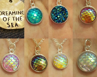 Dreaming of the sea necklace ( option)