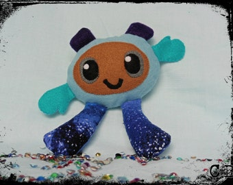Little space monster plushie