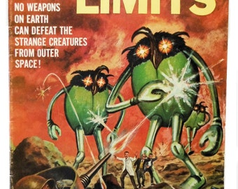 The Outer Limits #17 1968 Dell Comic Book