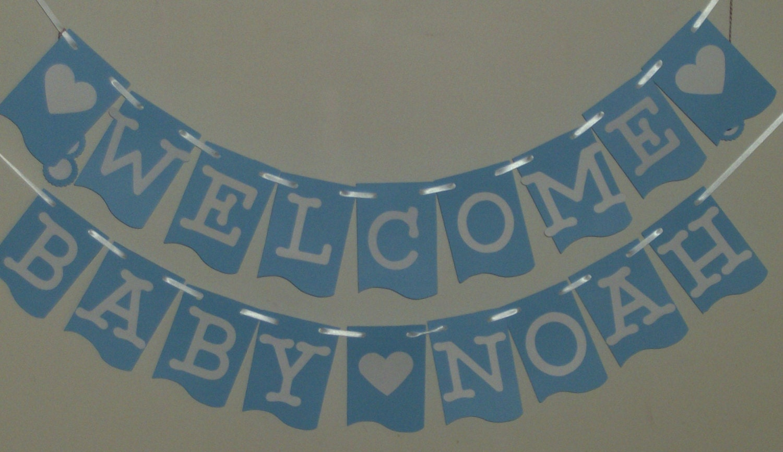 welcome baby banner baby shower banner baby banner congratulations newborn baby