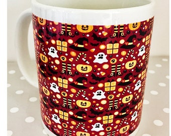 Halloween mug - great alternative to trick or treating - fill with sweets and give as a gift - great for kids and adults too.