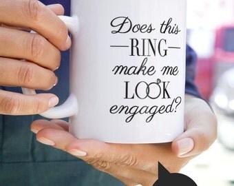 Engagement mug, wedding mug, bride mug, fiance mug, bride gift, gift for bride, wedding gift, bridal shower, bridal shower gift, weddings