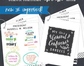 FLIPBOOK-General Conference Doodle