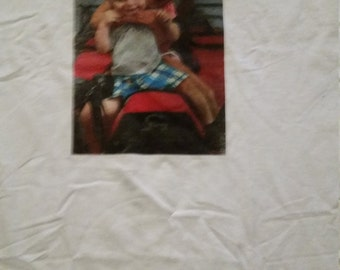 Custom made photo t-shirts made from your image provided ! Great gift idea!