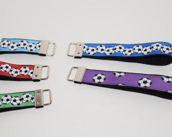 Soccer Keychain- Sport Keychain- Soccer