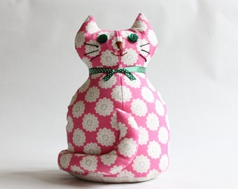 Beth the cat doorstop