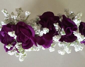 Purple Hair Barrette