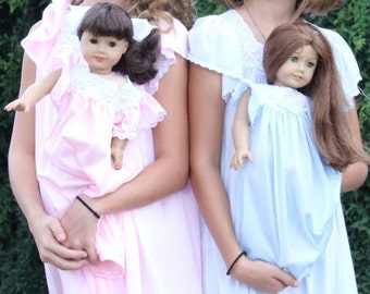 Tricot American Girl Nightgowns
