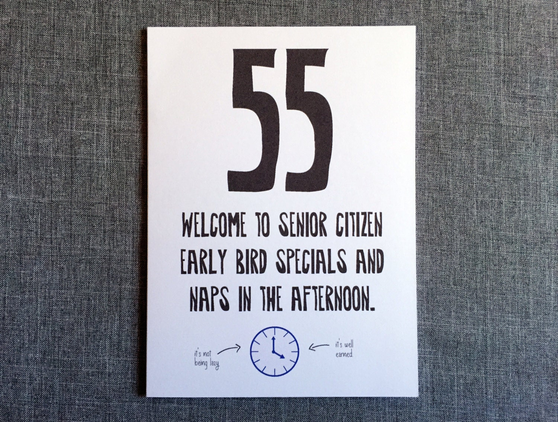 55. geburtstag