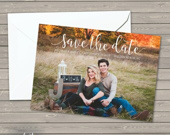 Simple Wedding Save the Date | Add Your Own Photo