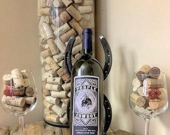 Single-Bottle Wine Rack